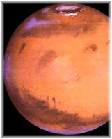 Le pôle Nord de Mars photographié par le télescope Hubble avec une ouverture.
