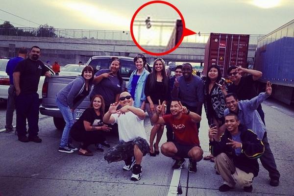 selfie avec un suicidaire